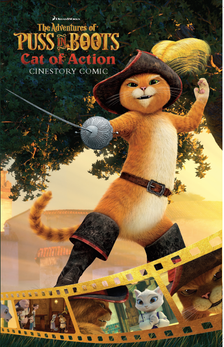 DreamWorks The Adventures of Puss in Boots: Cat of Action Cinestory Comic