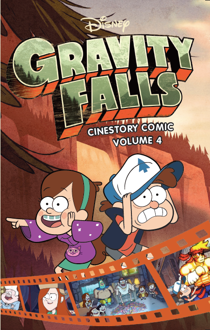 Disney Gravity Falls Cinestory Comic Vol. 4