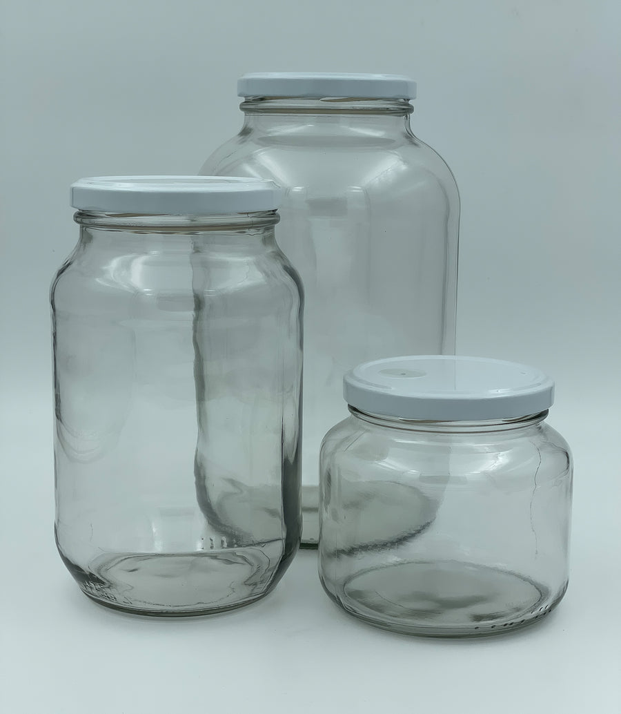 Reusable Coffee Storage Jars with one-way valve