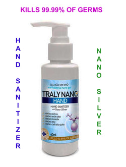 Hand Sanitizer with Nano Silver 100ml (3.4oz)
