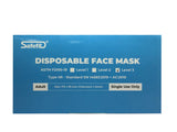 3-Layer Disposable Face Mask - Level III ASTM (50 Boxes = $100 DISCOUNT)