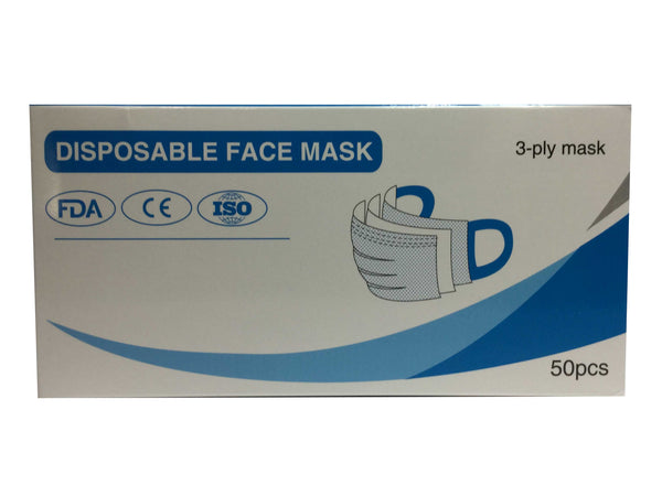 3-Layer Disposable Face Mask - Regular