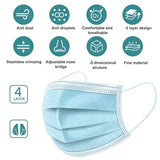 4-Layer Disposable Face Mask - Level III ASTM