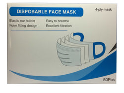 4-Layer Disposable Face Mask - Regular