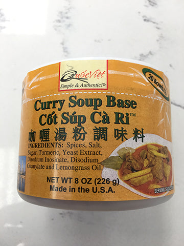 Curry Soup Base (Cốt Súp Cà Ri) 8 oz/ 10021