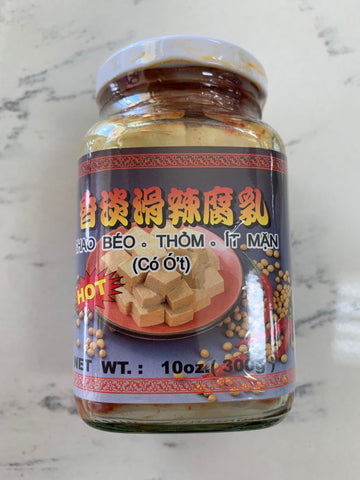 Salted Bean Curd Chili (Chao Co Ot It Man) 10.5oz / KSC / B170