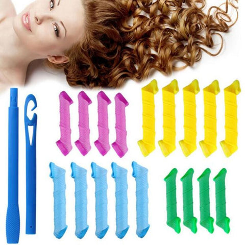Magic No Heat Hair Curler Set