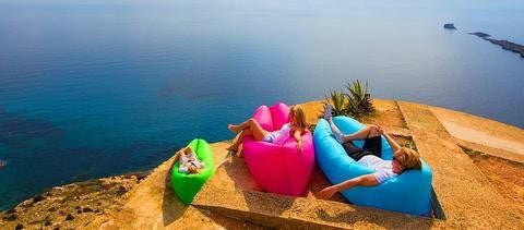 The Lazy Lounger Air Sofa