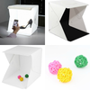 Image of Dimmable Light Box - Portable Studio Tent w/ LED Strips