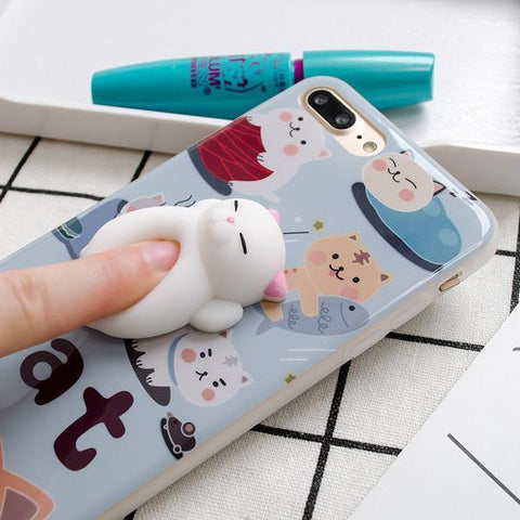 Funny 3D Soft Kitten Cases - Limited Edition