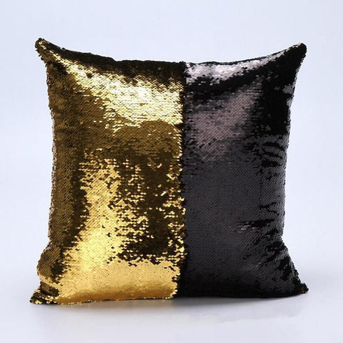 Color Changing Sequin Mermaid Sequin Pillow