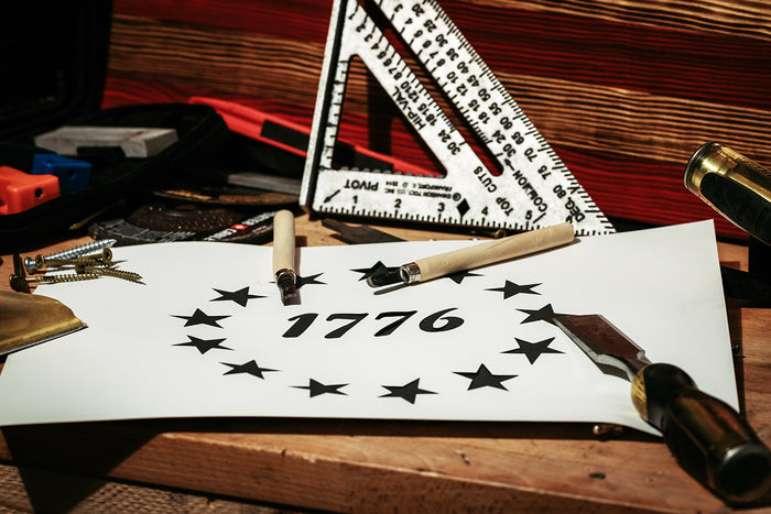 Pre-Cut Stencils for DIY Flag Builders