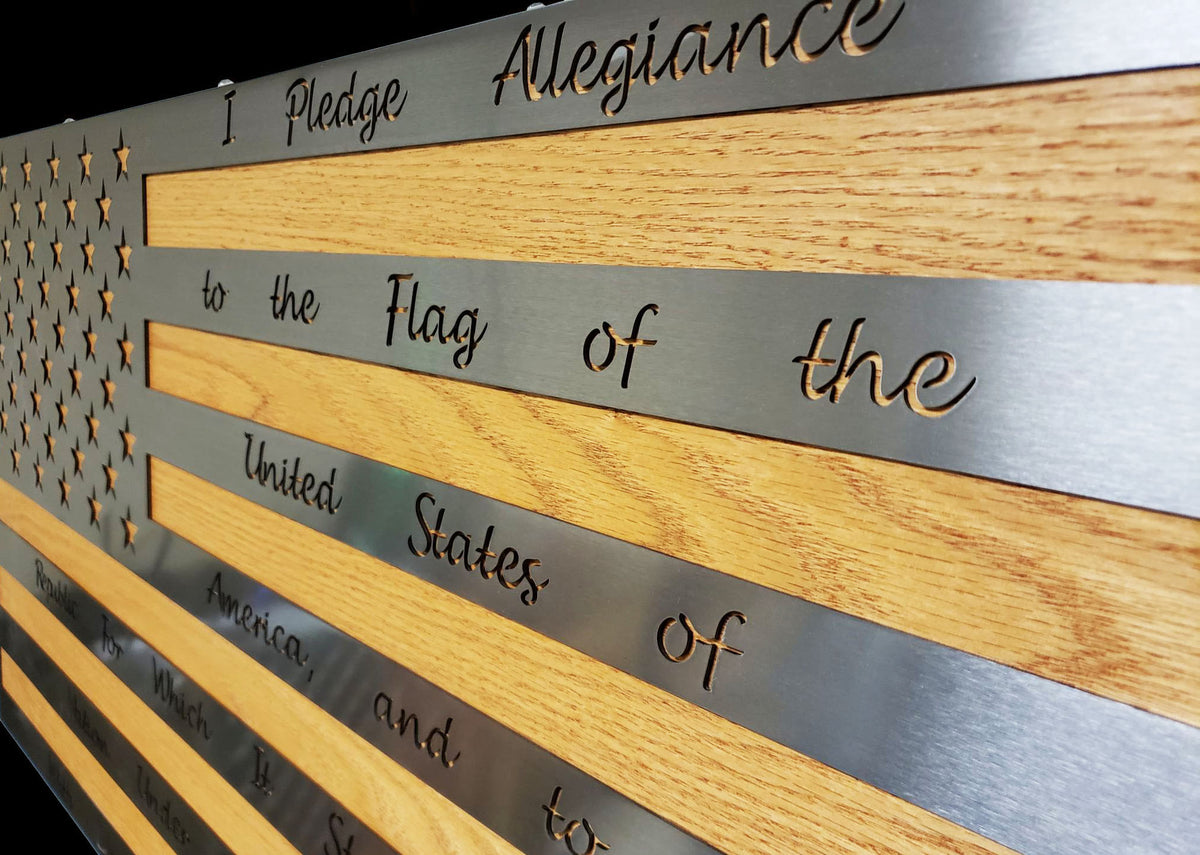 Pledge of Allegiance Steel Series