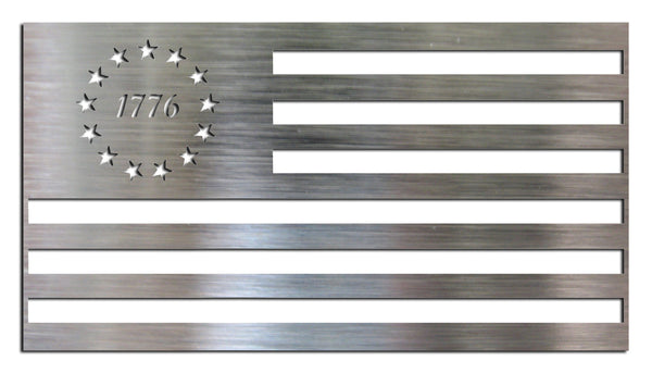Metal DIY American Flag - Betsy Ross 1776