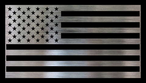 Metal DIY American Flag - 50 Stars Traditional