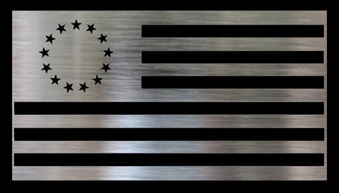Metal DIY American Flag - Betsy Ross