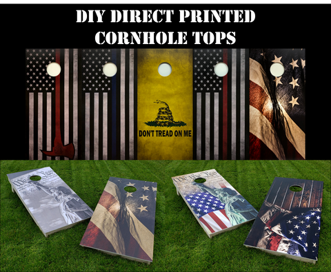 DIY Cornhole Tops