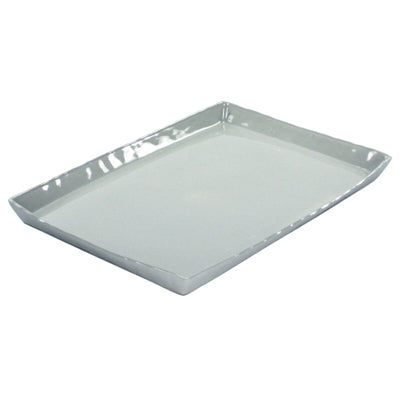 Fleet Ceramic Tray - Gray Rect.