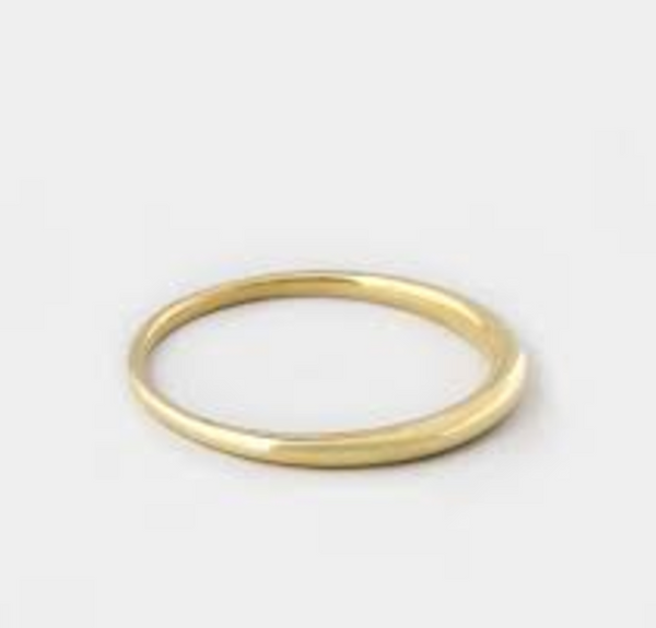 Gold Taper Bangle