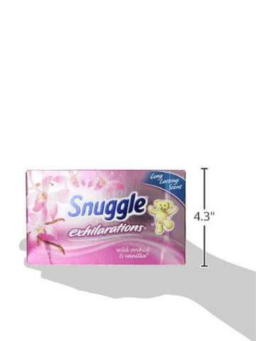 Sun Snuggle Exhilarations Fabric Softener Dryer Sheets