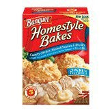 Banquet Homestyle Bakes Chicken Mashed Potatoes and Biscuits, 30.9 Ounce