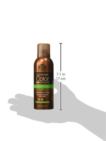 Banana Boat Sunless Summer Color Self-Tanning Mist, 5 oz