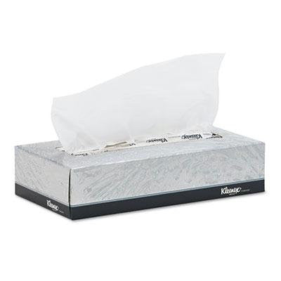 "Kimberly-Clark Professional* - Kleenex White Facial Tissue 2-Ply 125/Box 12/Carton ""Product Category: Breakroom And Janitorial/Facial Tissue"""