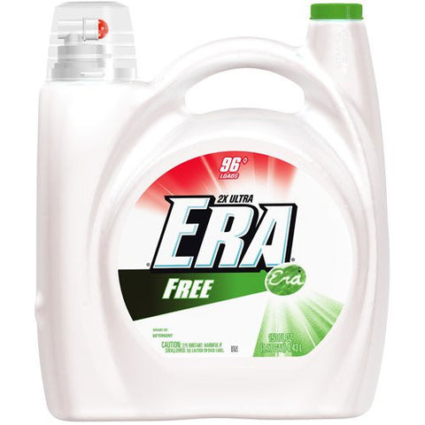 Era 2X Concentrated Liquid Detergent-Free - 96 Loads
