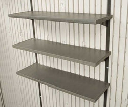 Lifetime Products 0130 10 x 30 in. Shelf Storage Shed Accessory Kit, 3 Piece