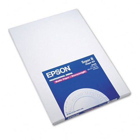 "Epson S041263 13x19"" Heavyweight Matte Paper"