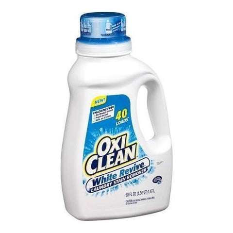 Oxi Clean White Revive Laundry Stain Remover, 125 Ounce