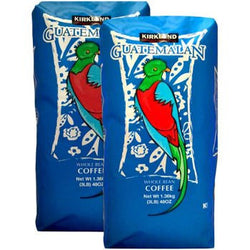 Kirkland SignatureTM Guatemalan Lake Atitlan Whole Bean Coffee 3 lb. Bag 2-pack