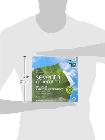 Seventh Generation Powder Laundry Concentrated, 112 Ounce, Packaging May Vary