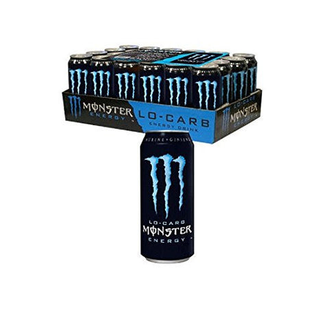 Monster Lo-carb Energy 16-Ounce., 27.5 LBS Cans (Pack of 24)