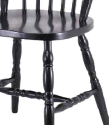 Winsome Windsor Chairs with Carved Leg - 2 Chair Set