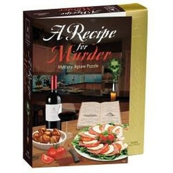 Recipe For Murder Mystery 1000 Piece Jigsaw Puzzle [Kitchen]