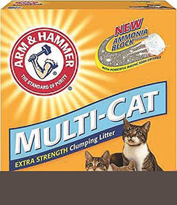 Arm & Hammer Multi-Cat Strength Clumping Litter, Unscented