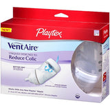 Playtex VentAire Advanced Natural Feeding System Bottles, Slow Flow, Wide / 6oz, 3 ea