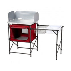 Ozark Trail Deluxe Camp Grill and Sink Table