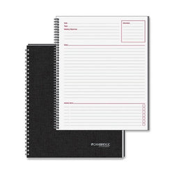 MEA06132 - Side-Bound Guided Business Notebook
