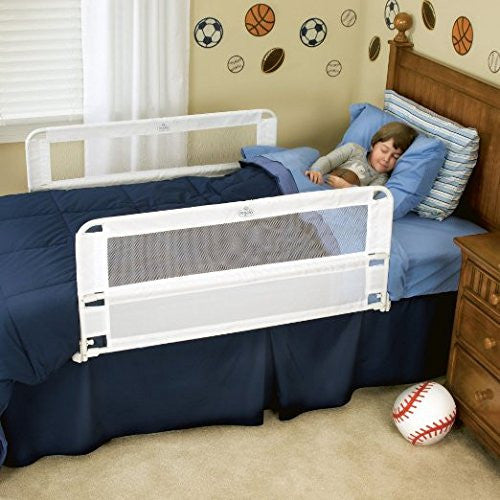 Regalo Hide Away Double Sided Bed Rail, White