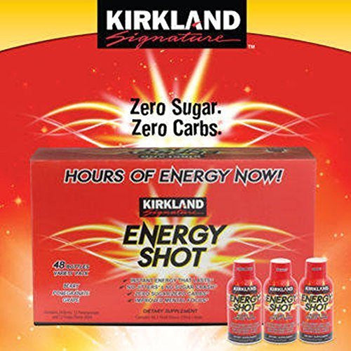 Kirkland SignatureTM Energy Shot 48 Count, 2 Ounces Each by Kirkland SignatureTM