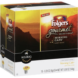 Folgers Gormet Selections K-Cup Morning Cafe 18 Count