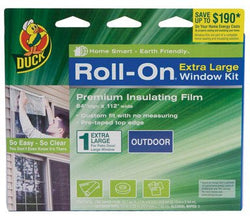 "Roll-On Exterior Patio Door Insulator Kit One Average Size Patio Door 84"" X 112""Film"