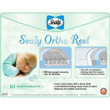 Ortho Rest Crib Mattress With SecureStay Waterproof Crib Mattress Pad