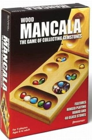 "Mancala the Centuries-Old Game of Collecting ""Gemstones"""