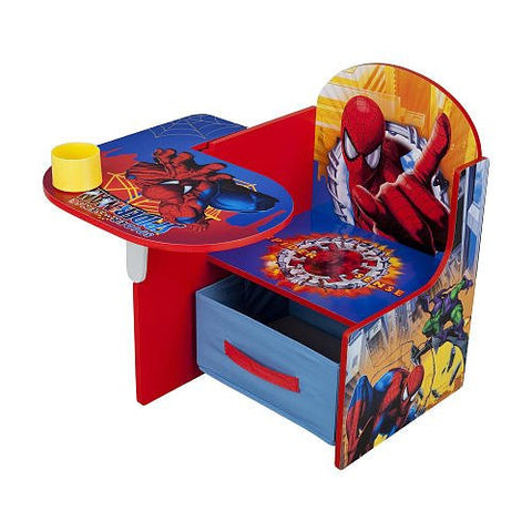 Marvel The Amazing Spider-Man Chair Desk with Storage Bin
