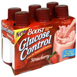 Boost Glucose Control, Creamy Strawberry, 6 Count