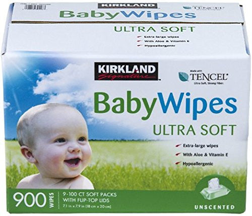 Kirkland Signature, Baby Wipes