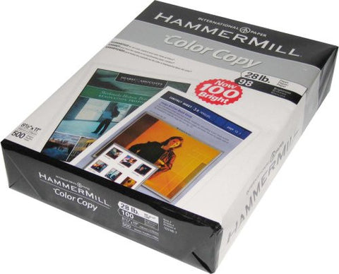 Hammermill Color Copy Digital Cover Stock, 60 lbs., 8-1/2 x 11, White, 250 Sheets 12254-9